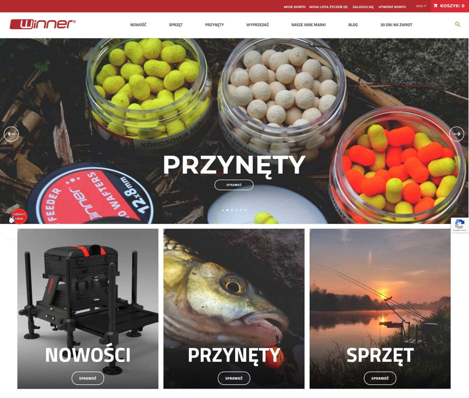 winnerfishing.com - Wszystko dla każdego wędkarza karpiowego