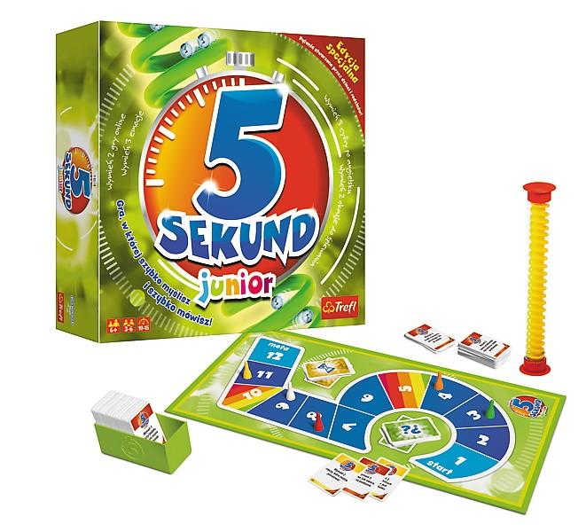 Trefl Gra 5 Sekund Junior 2.0